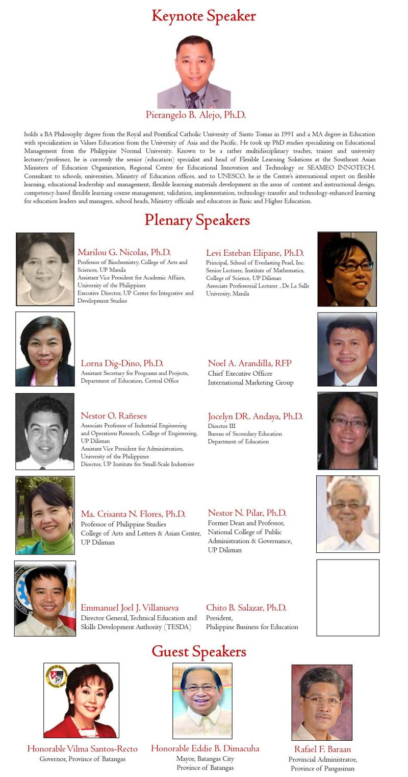 GFF 2014 national conference speakers